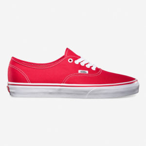 Кеды Vans Authentic Red
