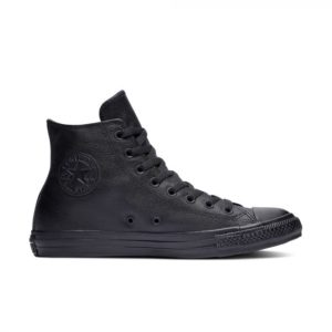 Черные высокие кеды Converse Chuck Tailor All Star Mono Leather High