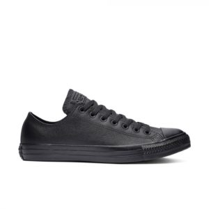 Черные кожаные кеды Converse Chuck Tailor All Star Mono Leather Ox