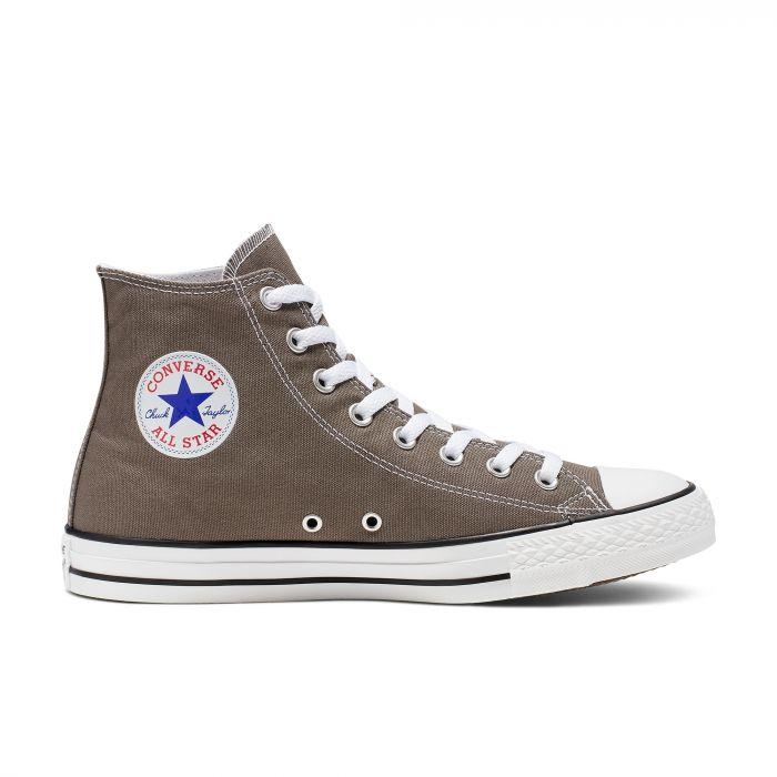 Высокие серые кеды Converse Chuck Tailor All Star Core High Top 1J793