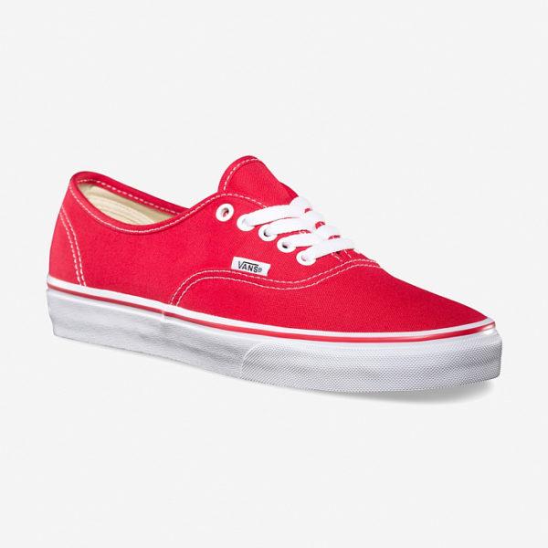 Кеды Vans Authentic Red