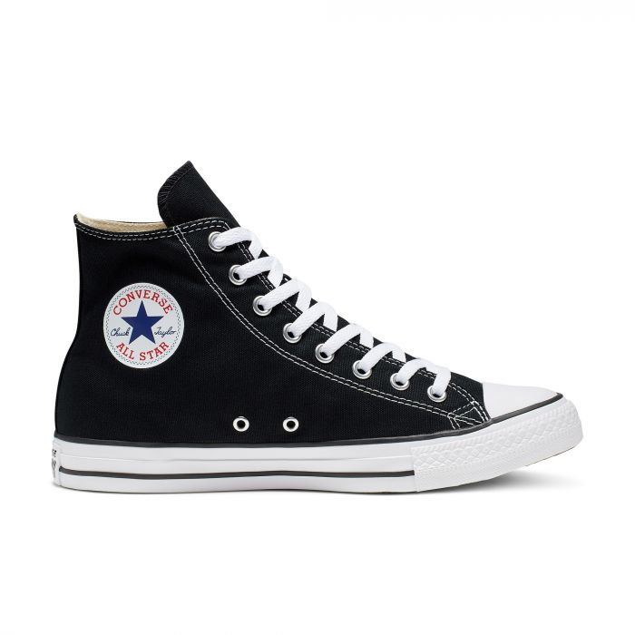 Черно белые кеды Converse Chuck Tailor All Star Core High M9160