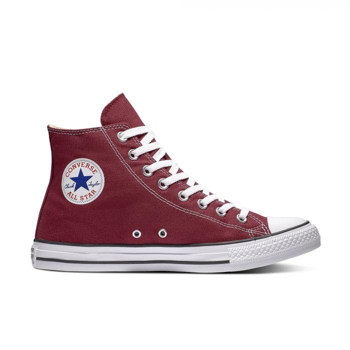Высокие бордовые кеды Converse Chuck Tailor All Star Core High Top M9613