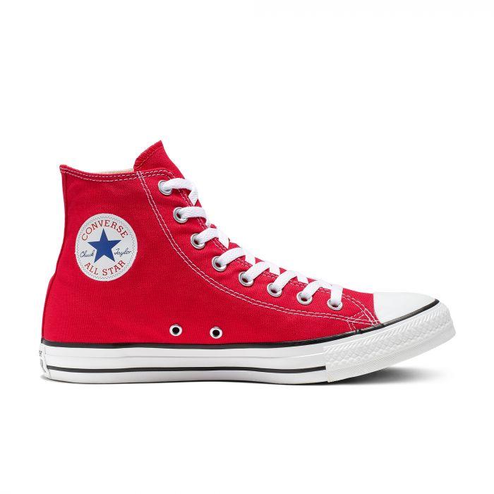 Красные кеды Converse Chuck Tailor All Star Core High Top M9621