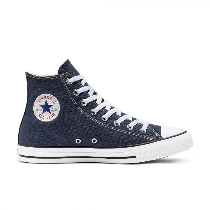 Синие высокие кеды Converse Chuck Tailor All Star Core High M9622