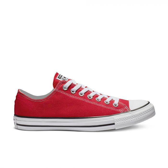 Красные кеды Converse Chuck Tailor All Star Core Low top M9696