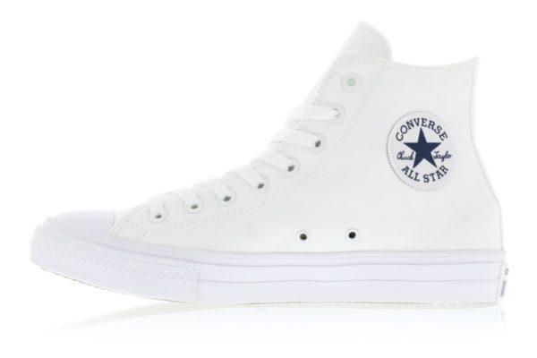 Белые высокие кеды Converse Chuck Tailor All Star 2