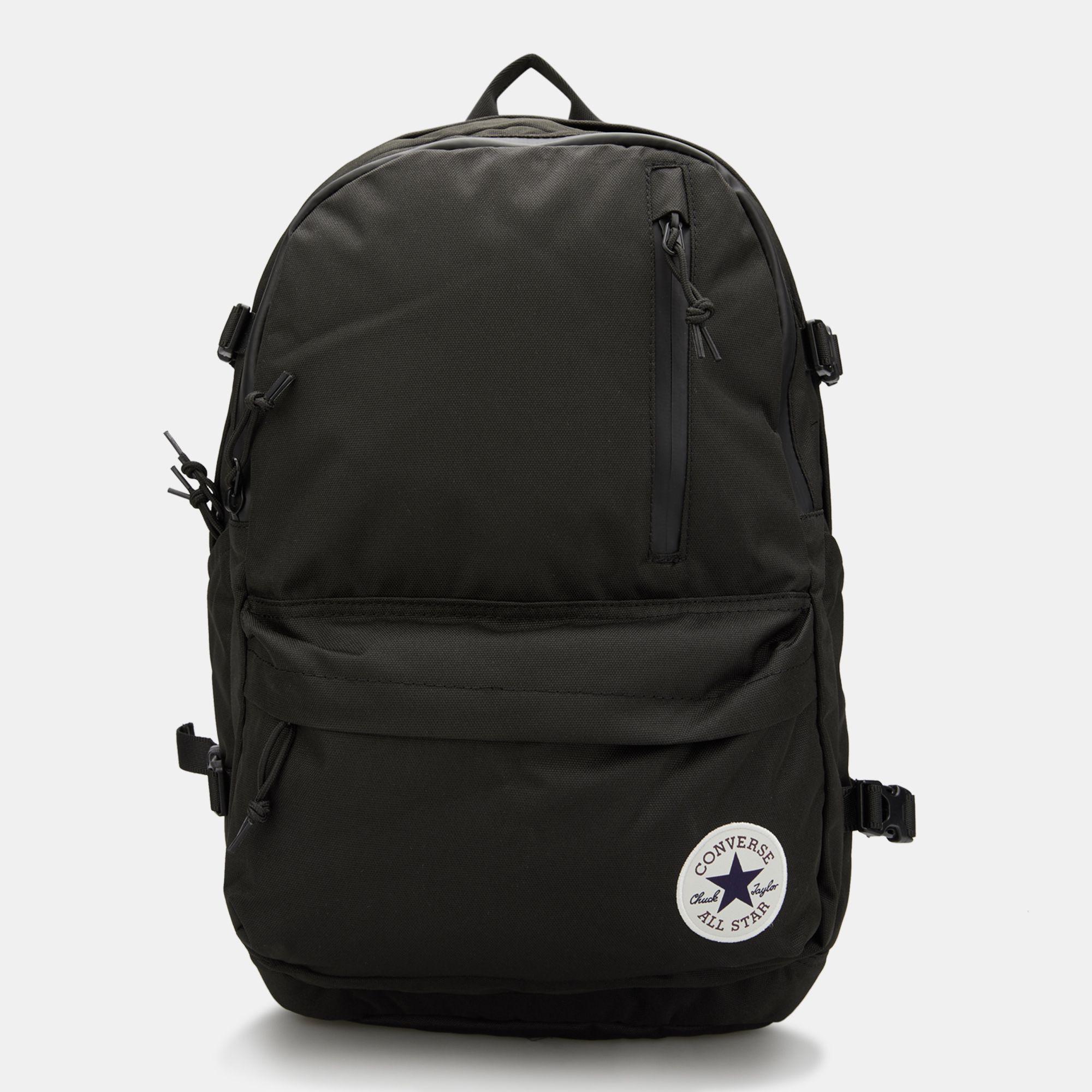 Черный рюкзак Converse BackPack Straight EDGE