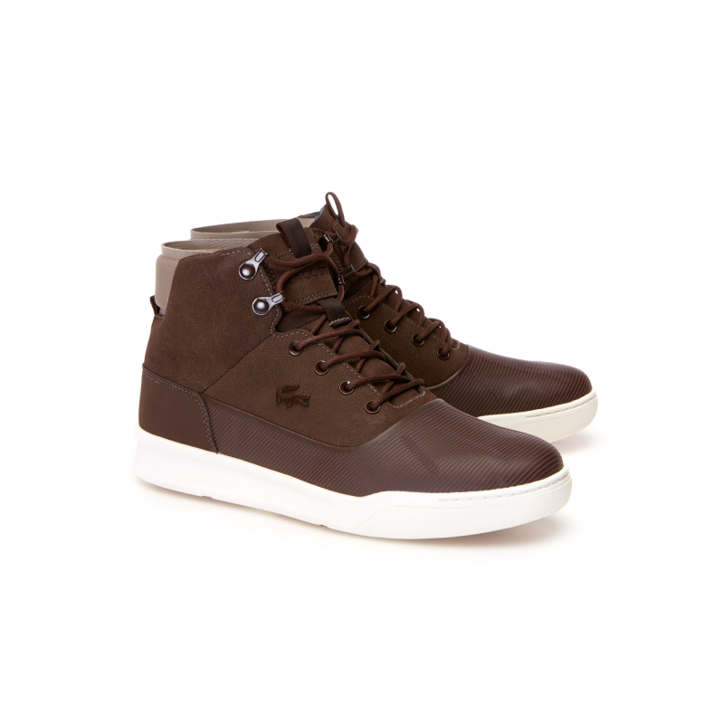 Мужские зимние ботинки Lacoste Explorateur Hydro