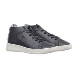 Женские кожаные ботинки Lacoste