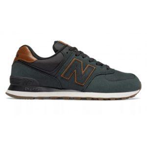 Кожаные NewBalance 574 NBI