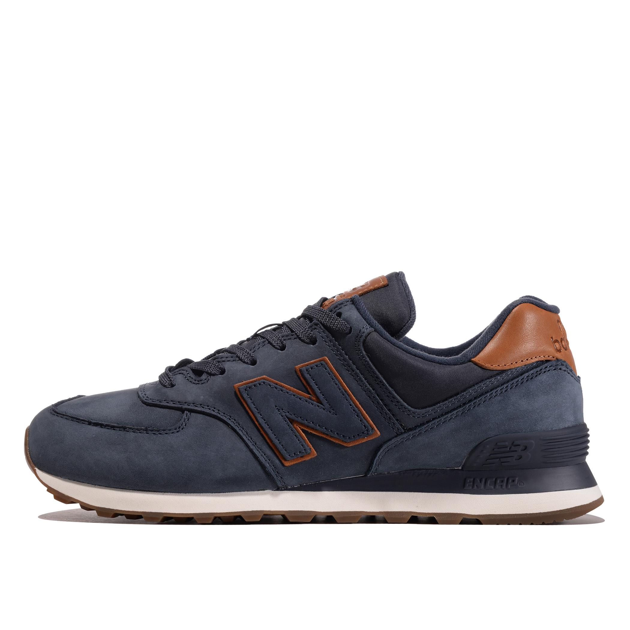 Кожаные NewBalance 574 NBD