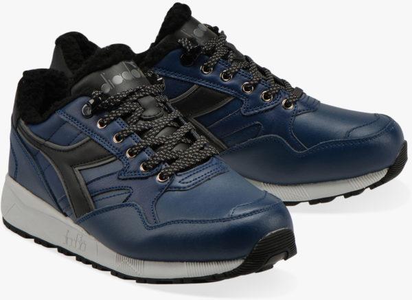 Кожаные кроссовки Diadora N902 Winter Pack Blue