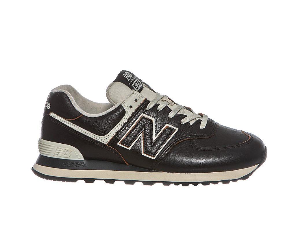 Кожаные кроссовки NewBalance 574 LPK