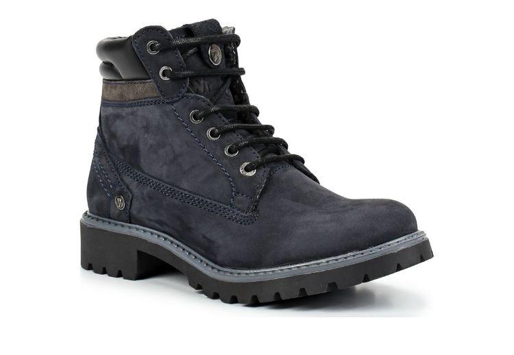 Зимние ботинки Wrangler Creek Fur S Navy