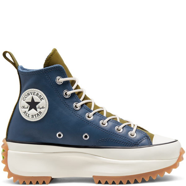 Зимние кеды Converse  на платформе Run Star Hike Gusset Construction
