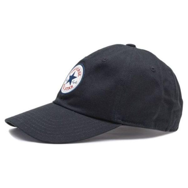 черная бейсболка Converse