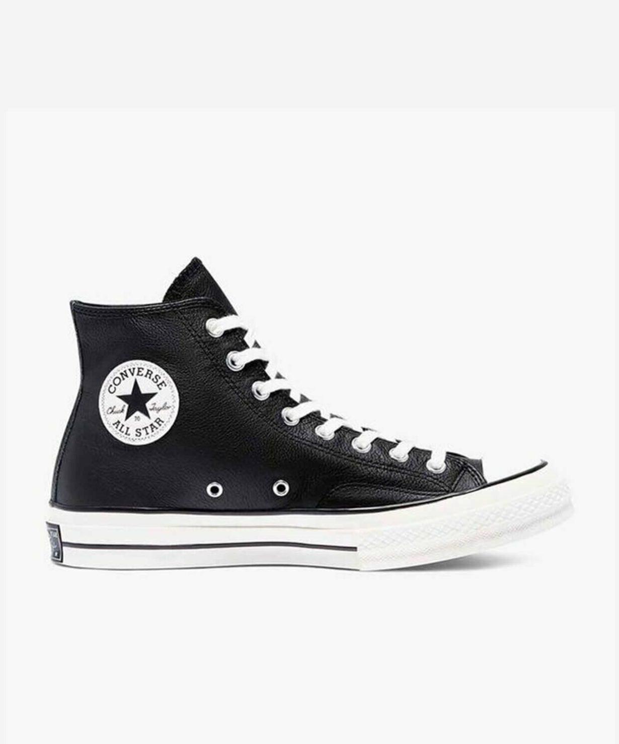 Черно-белые Converse 70 Hi
